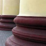 ТИАСУР, колонны портика