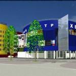 Проект жилого дома с торговым центром в г. Заринске