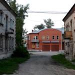 Жилой дом на ул. Витебской, западный фасад