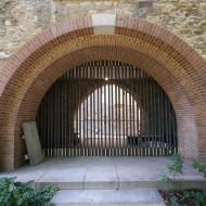 Сад на валах Служебные ворота