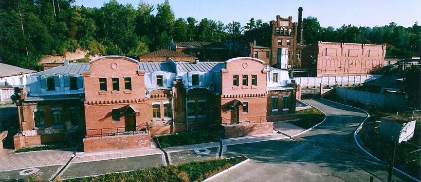 Административный корпус после реконструкции фото 2008 г.