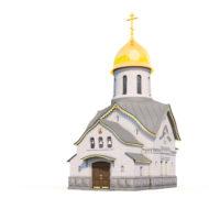 Церковь Западный фасад