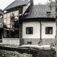 Дворовый фасад