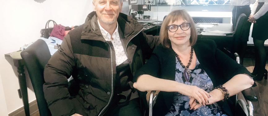 Александр Деринг и Лариса Борнысова