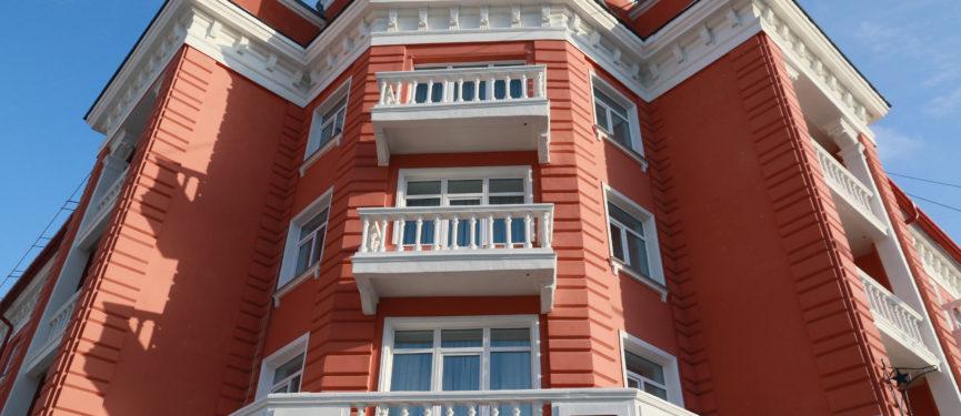 Фрагмент фасада. Фото О.Укладов