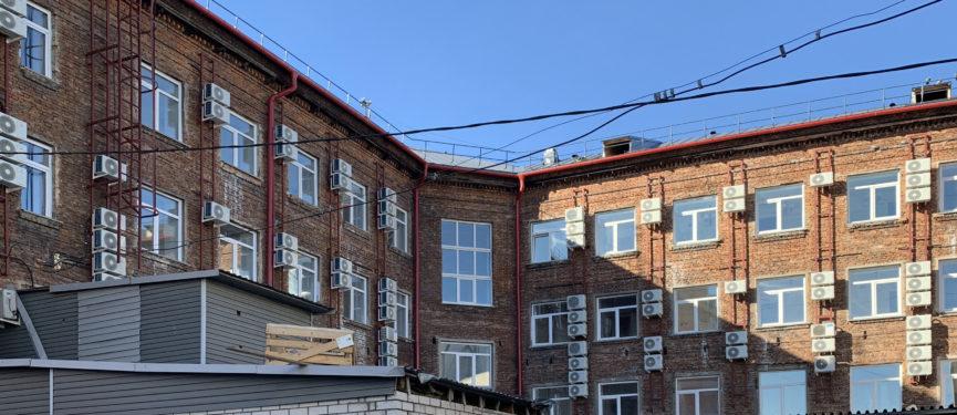 Фасад дворовый
